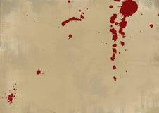 Blutige Schmutz-Wand Stockfoto