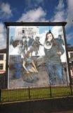 Blutige Sonntags-Wandbilder in Londonderry lizenzfreies stockbild