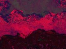 Blutiger Berg Lizenzfreie Stockbilder