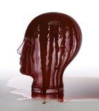 Blutiger Glaskopf Stockbilder