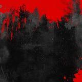 Blutiger Grunge Hintergrund Stockfoto