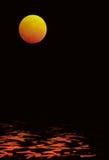 Blutiger Mond Lizenzfreie Stockfotografie