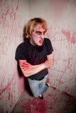 Blutiger Zombie Lizenzfreie Stockfotos