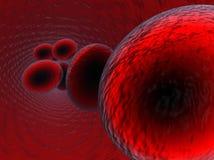 Blutzellen 2 stock abbildung