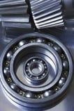 Bluuish still-life of mechanics Stock Image