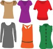 bluzek mody damy ilustracji