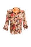 bluzka biel z klasą elegancki zdjęcie stock