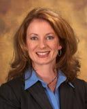 bluzki błękitny bizneswomanu kostium Zdjęcia Stock