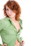 bluzki dziewczyny zieleń Obraz Stock