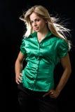 bluzki zieleń zdjęcia royalty free