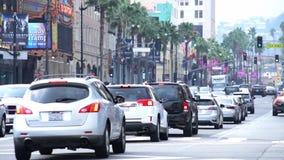 Blvd de Hollywood et avenue de montagne clips vidéos