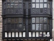 blyade glass fönster Arkivbilder