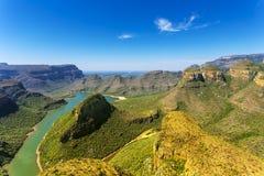 Blyde河峡谷 图库摄影