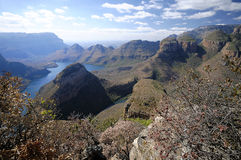 Blyde canyon royalty free stock photo