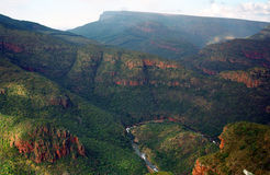 Blyde Canyon, Blyde River Nature Reserve, South African Republic Stock Photos