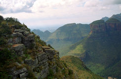 Blyde Canyon, Blyde River Nature Reserve, South African Republic Stock Photography