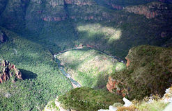 Blyde Canyon, Blyde River Nature Reserve, South African Republic Stock Images