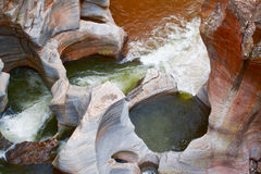 Blyde Canyon potholes Stock Photography