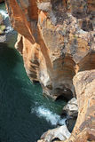 Blyde Fluss-Schlucht Stockfotos