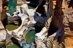 Blyde Fluss-Schlucht - Bourks Glück Stockfotografie