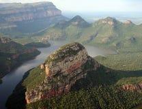 Blyde Fluss-Schlucht, Drakensberg, Südafrika Lizenzfreies Stockfoto