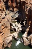 Blyde River Canyon Bourk's Luck Potholes. Image of the Bourks Luck Potholes in the Blyde River Canyon Royalty Free Stock Images