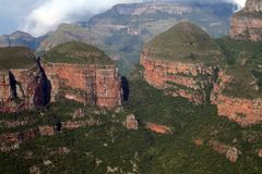 Blyde River Canyon, Drakensberg, South Africa Royalty Free Stock Images