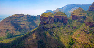 Blyde River Canyon Royalty Free Stock Photography