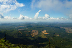 Blyde River Canyon panorama from Royalty Free Stock Photo