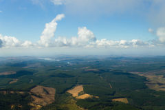 Blyde River Canyon panorama from Royalty Free Stock Images