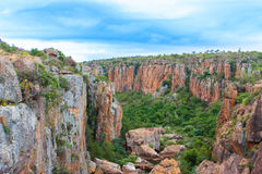Blyde River Canyon,South Africa, Mpumalanga, Summer  Landscape Royalty Free Stock Images