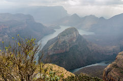 Blyde River Canyon in South Africa Royalty Free Stock Photos