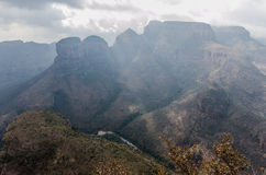 Blyde River Canyon in South Africa Stock Photos