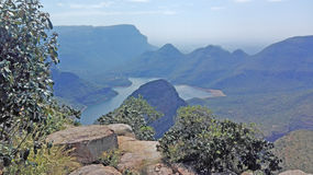 Blyde River Canyon in South Africa Stock Images