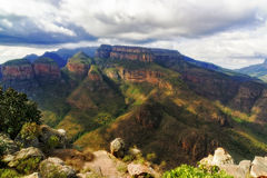 Blyde river canyon three sisters Royalty Free Stock Images
