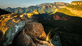Blyde River Canyon View II Royalty Free Stock Images