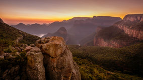 Blyde River Canyon View Royalty Free Stock Photography
