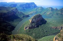 Blyde River Canyon Royalty Free Stock Images