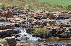 Blyde River between Lisbon and Berlin waterfall, South Africa Royalty Free Stock Photo