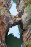 Blyde Rzeczny jar, Południowa Afryka, Mpumalanga Fotografia Stock