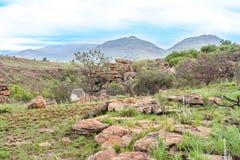 Blyde Rzeczny jar, Południowa Afryka, Mpumalanga, lato krajobraz Zdjęcia Royalty Free