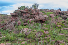 Blyde Rzeczny jar, Południowa Afryka, Mpumalanga, lato krajobraz Zdjęcie Stock