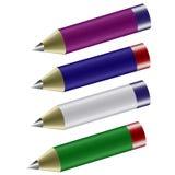 blyertspenna Vektor Illustrationer