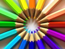 blyertspenna Royaltyfria Bilder