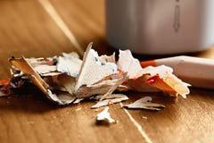 Blyertspennaklipp Royaltyfri Fotografi