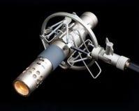 Blyertspennamikrofon i upphängningmontering Royaltyfri Foto