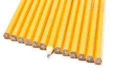 blyertspennasharp royaltyfri foto