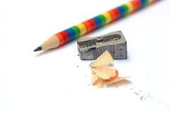 blyertspennasharpener arkivbilder