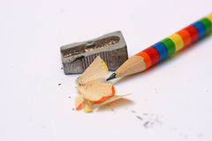 blyertspennasharpener arkivfoton