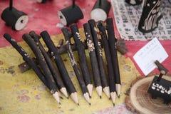 blyertspennor Royaltyfri Foto
